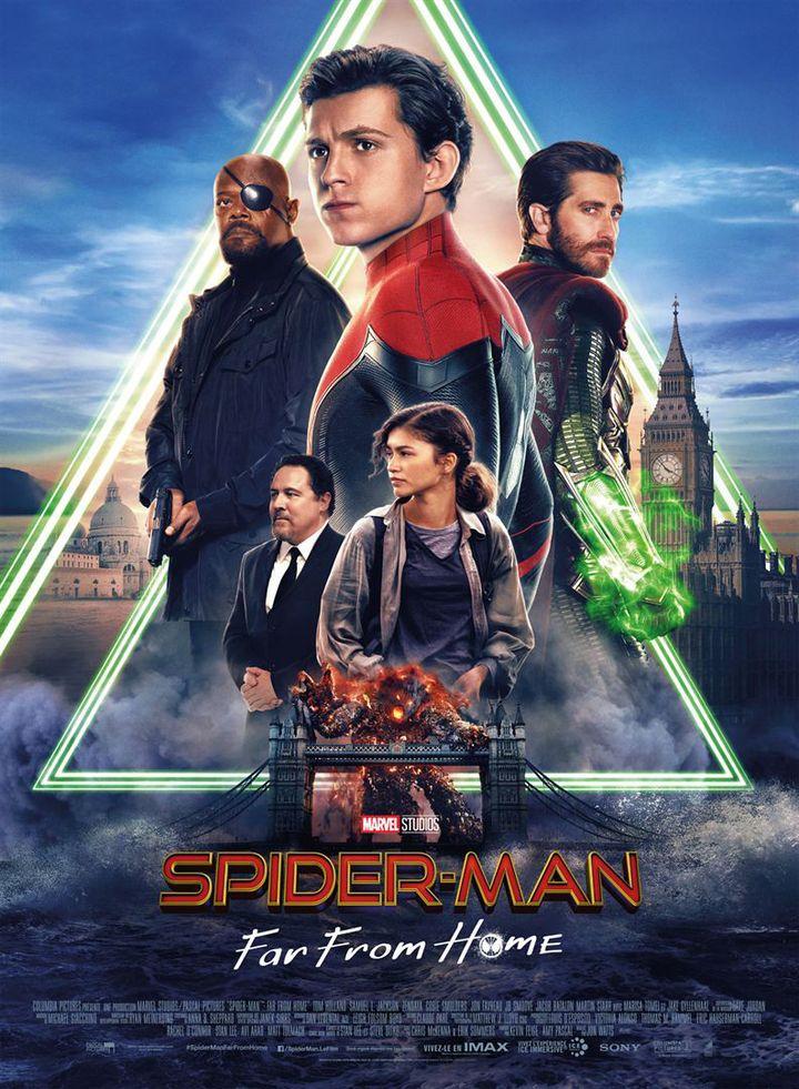 "L'affiche de ""Spider Man : Far From Home"" de John Watts (Sony Pictures Releasing France)"