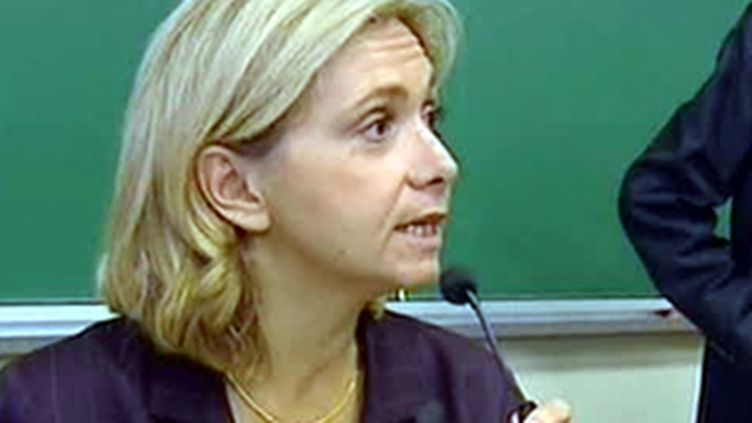 La ministre de l'Enseignement supérieure, Valérie Pécresse (© France)