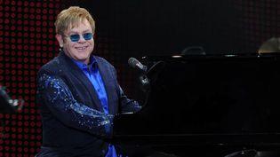 Elton John en concert à Hong Kong le 4 décembre 2012  (Hu Wencheng / ImagineChina / AFP)