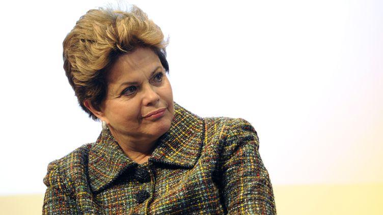 La présidente brésilienne Dilma Roussef à Paris le 12 décembre 2012. (CHAMUSSY / SIPA)