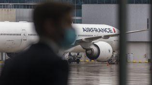L'aéroport de Roissy-Charles-de-Gaulle (Val-d'Oise), le 18 mai 2021. (MAXPPP)