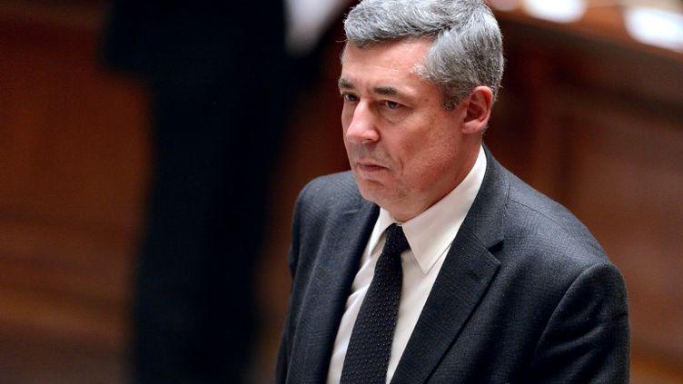 Le député UMP des Yvelines Henri Guaino, le 26 mars 2013 à l'Assemblée nationale, à Paris. (ERIC FEFERBERG / AFP)