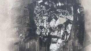 L'un des visages de l'artiste Vhils, rue Jenner à Paris  (Louise Wessbecher/FTV)