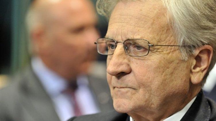 Jean-Claude Trichet, président de la Banque centrale européenne, le 12 juillet 2010, à Bruxelles. (AFP)
