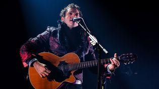 Matthieu Chedid en concert privé le 8 septembre 2016 au Palais de Tokyo, à Paris  (Isa Harsin / Sipa)