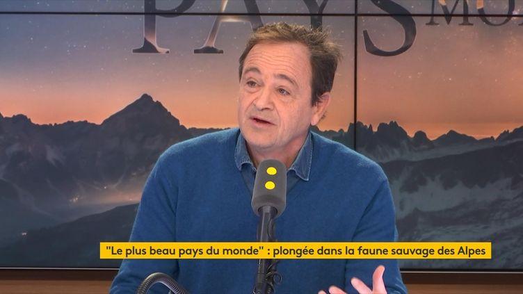 """Pour leréalisateur et producteur Frédéric Fougea, les Alpes sont une zone """"sanctuaire"""" où plusieurs espèces ont réapparu. (FRANCEINFO / RADIOFRANCE)"""