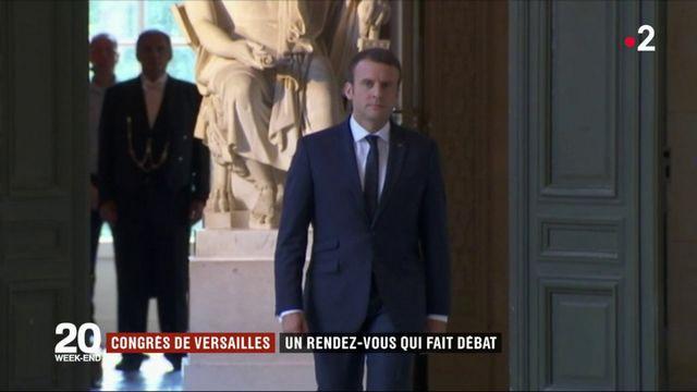 Congrès de Versailles : un rendez-vous qui fait débat