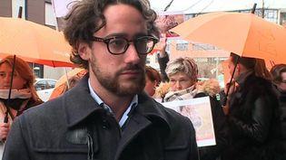 Thomas Hollande, à Reims (France 3)