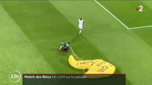 France-Allemagne : un militant Greenpeace perd le contrôle de son ULM et blesse deux spectateurs du match