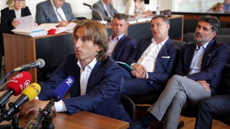 Le Croate Luka Modric (STR / AFP)