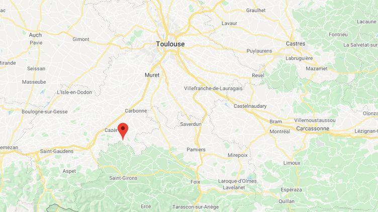 Montberaud, au sud-ouest de Toulouse (Haute-Garonne) (GOOGLE MAPS)