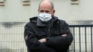 Laurent Touvet, le 14 mai 2020, à Magstatt-le-Haut. (THIERRY GACHON / MAXPPP)