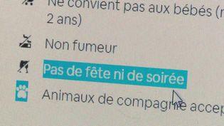 Locations de maisons : la chasse aux fêtards abusifs (France 2)