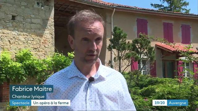 En Auvergne, un opéra à la ferme