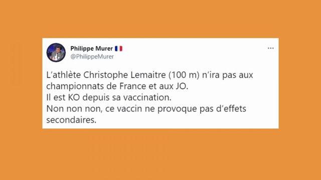 Vrai ou Fake : ChristopheLemaitre est-il moins performant à cause du vaccin contre le Covid-19 ?