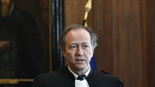 Le bâtonnier de Paris Olivier Cousi lors d'une conférence de presse à Paris, le 17 février 2020. (STEPHANE DE SAKUTIN / AFP)