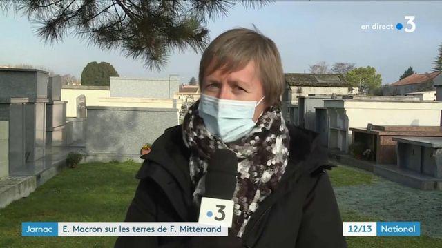 Anniversaire de la mort de François Mitterrand : Emmanuel Macron s'est rendu sur la tombe de l'ancien président, à Jarnac
