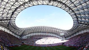 Le stade Vélodrome de Marseille,; photographié le 21 juin 2016, lors du match Ukraine-Pologne. (VALERY HACHE / AFP)