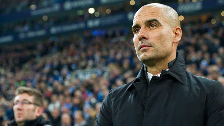 L'entraîneur du Bayern Munich, Pep Guardiola
