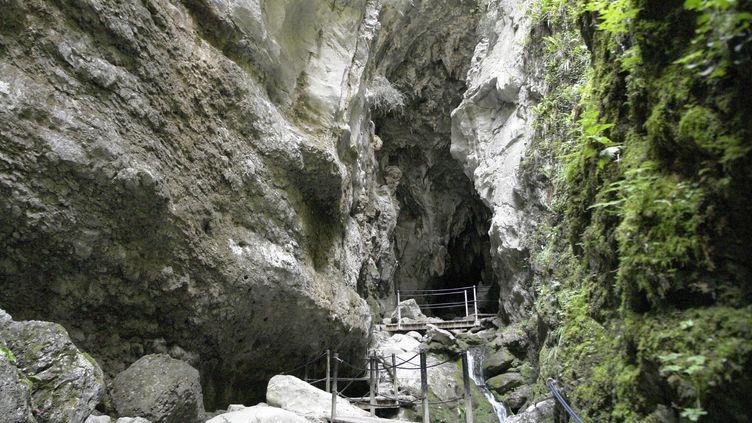 Les gorges de Kakuetta (Pyrénée-Atlantiques). (KLUBA TADEUSZ / MAXPPP)