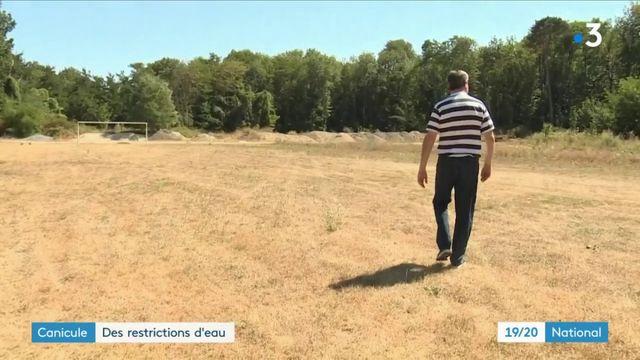 Canicule : 39 départements soumis aux restrictions d'eau