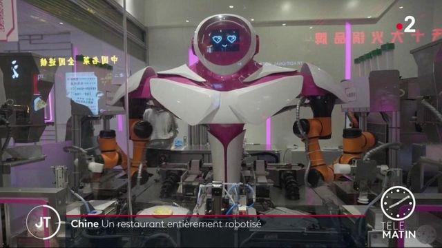 Chine: un restaurant entièrement robotisé