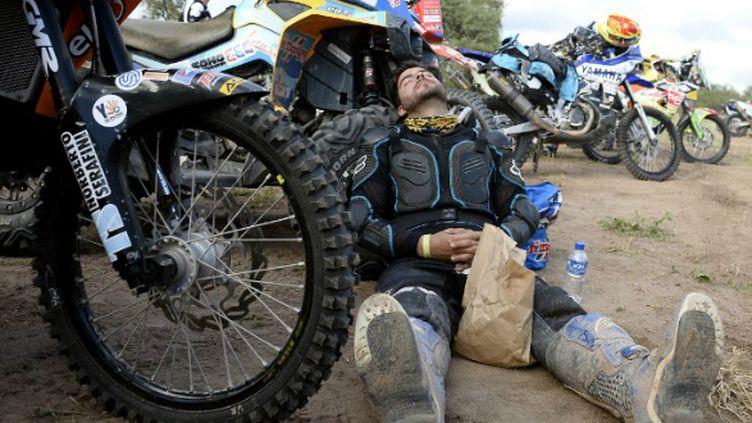 Un Dakar 2015 très éprouvant pour les motards