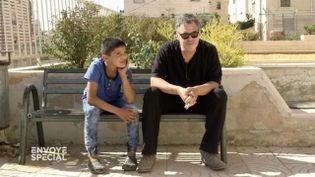 """En Cisjordanie, extrait de """"Un bref moment d'optimisme"""" d'Amos Gitaï. (FRANCE 2 / FRANCETV INFO)"""