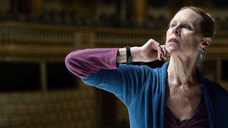 """Carolyn Carlson présente """"Pneuma"""" à l'opéra national de Bordeaux  (JEAN-PIERRE MULLER / AFP)"""