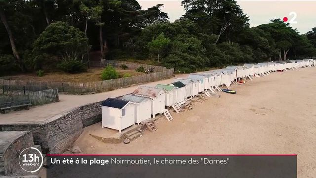 """Noirmoutier : à la découverte de la plage des """"Dames"""" et de ses célèbres cabines blanches"""