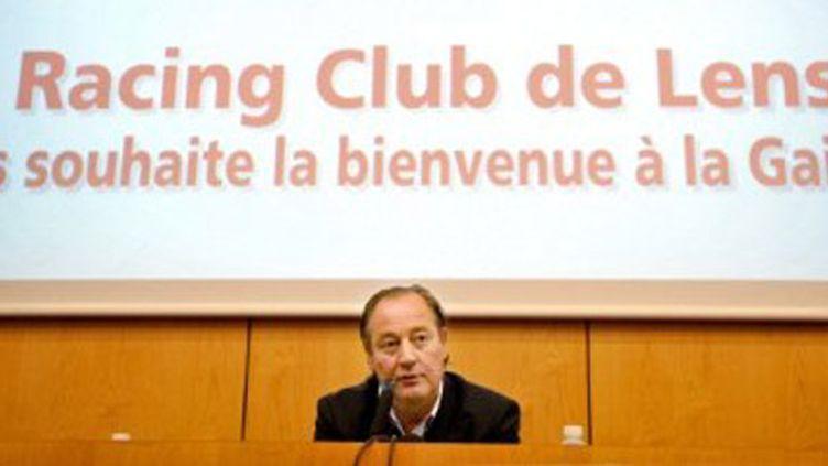 Le président du RC Lens, Gervais Martel