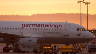 Un avion de la compagnie allemande Germanwings, le 29 août 2014, à Stuttgart (Allemagne). (  MAXPPP)