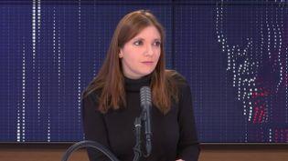 Aurore Bergé, députée LREM des Yvelines, était l'invitée de franceinfo vendredi 29 janvier 2021. (FRANCEINFO / RADIOFRANCE)