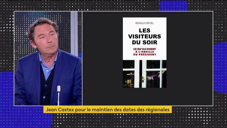 Le journaliste Renaud Revel invité du 23h. (Capture franceinfo)