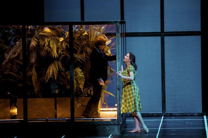 Jonas Kaufmann (Faust) et Sophie Koch (Marguerite)  (Felipe Sanguinetti / OnP)