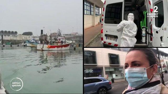 Confinement : marins-pêcheurs, ambulanciers, qui sont les Français qui continuent à travailler ?