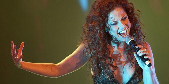 Pastora Soler représente l'Espagne à l'Eurovision 2012  (Robert Vos / ANP / AFP)