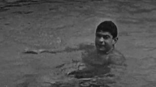 Le nageur Aflred Nakache a survécu aux camps d'Auschwitz durant la Seconde Guerre mondiale. (CAPTURE D'ÉCRAN FRANCE 2)
