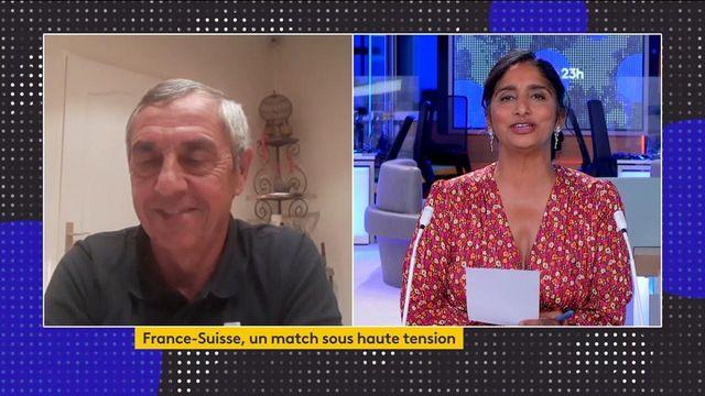 France-Suisse : les commentaires d'Alain Giresse