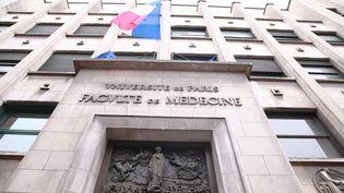 L'université Descartes à Paris, en mars 2017. (OLIVIER BOITET / MAXPPP)