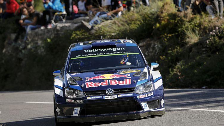 Sébastien Ogier, ici au volant de sa VW Polo, devra changer d'écurie en 2017  (BASTIEN BAUDIN / AUSTRAL)