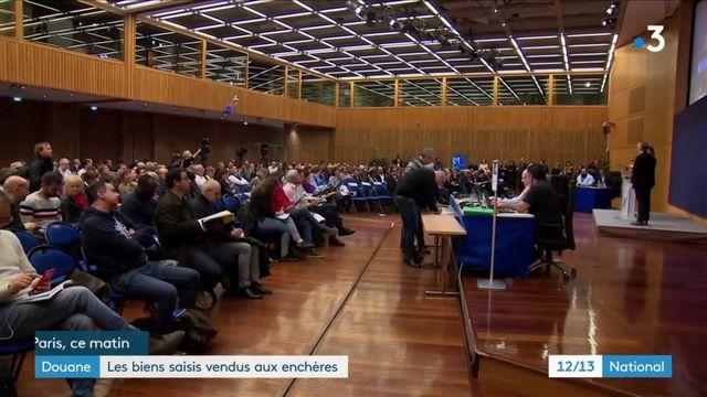 Bercy : des biens saisis par les douanes vendus aux enchères