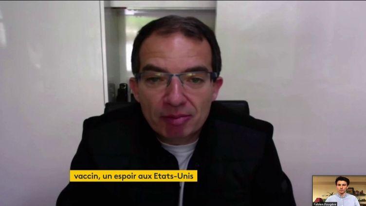 Stéphane Bancel, PDG de Moderna (FRANCEINFO)