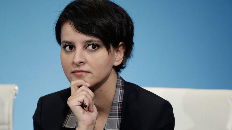 La ministre de l'Education nationale, Najat Vallaud-Belkacem, le 6 mars 2015 à Paris. (MAXPPP)