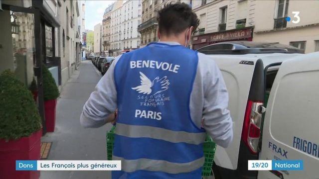 Dons : les Français mettent la main à la poche
