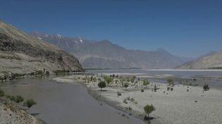 Le fleuve Indus en Chine. (CAPTURE D'ÉCRAN FRANCE 2)