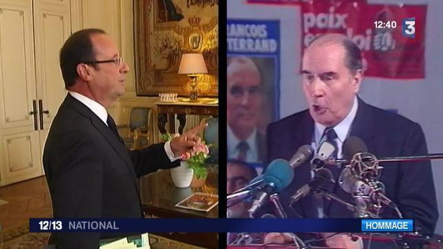 Mitterrand/Hollande : deux présidents de gauche, de nombreux points communs