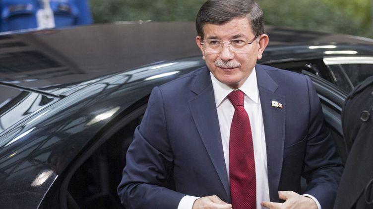 (Le Premier ministre turc, Ahmet Davutoglu © MaxPPP)