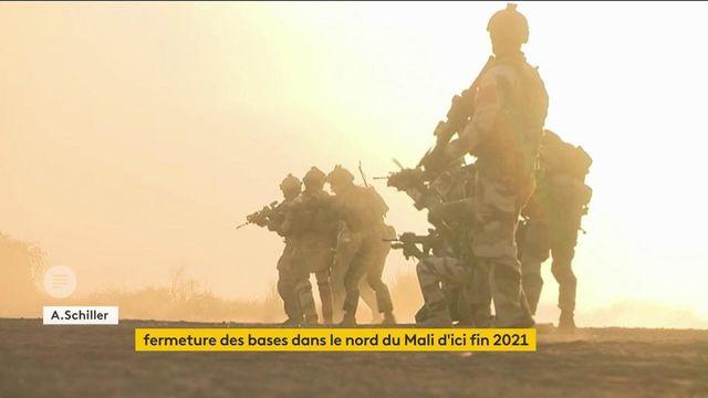 Mali: la France va fermer des bases militaires d'ici fin 2021