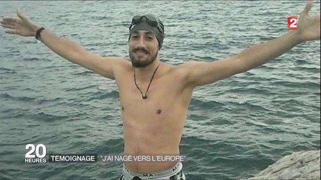 Ce jeune syrien a traversé la Mer Egée à la nage pour se réfugier en Europe